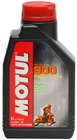MOTUL 800 2T Off Road Double Ester Factory Line - 1 litr