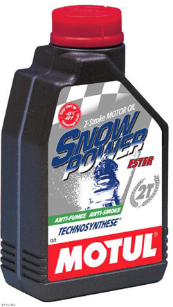 MOTUL Snowpower 2T Technosynthese - 4 litry