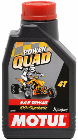 MOTUL Power Quad 4T 10W-40 - 1 litr